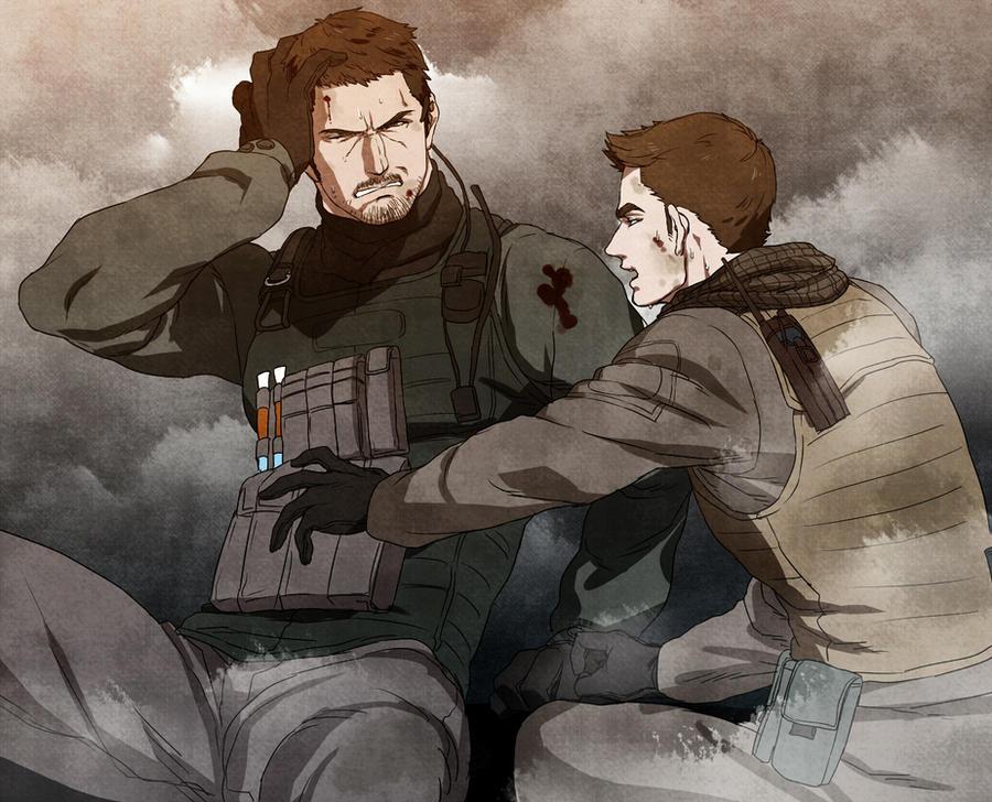 Resident Evil 6 by castella-star