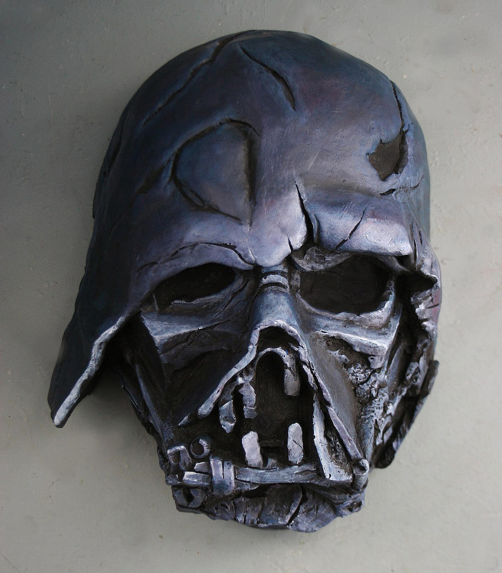 how to draw darth vader mask