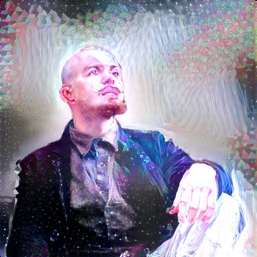 Deep neural self portrait by dynastes