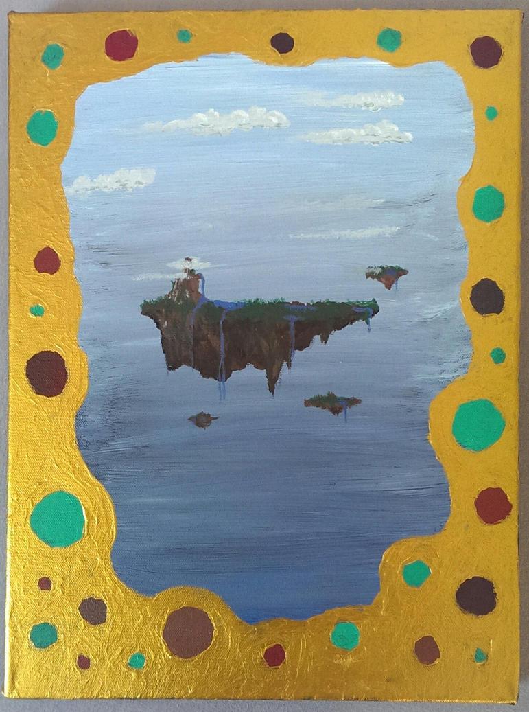 Floating Island #1 by dynastes