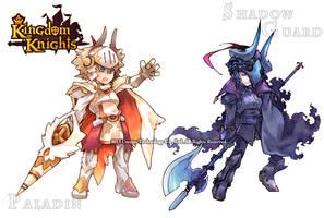 Paladin and Shadowguard by sorata-s