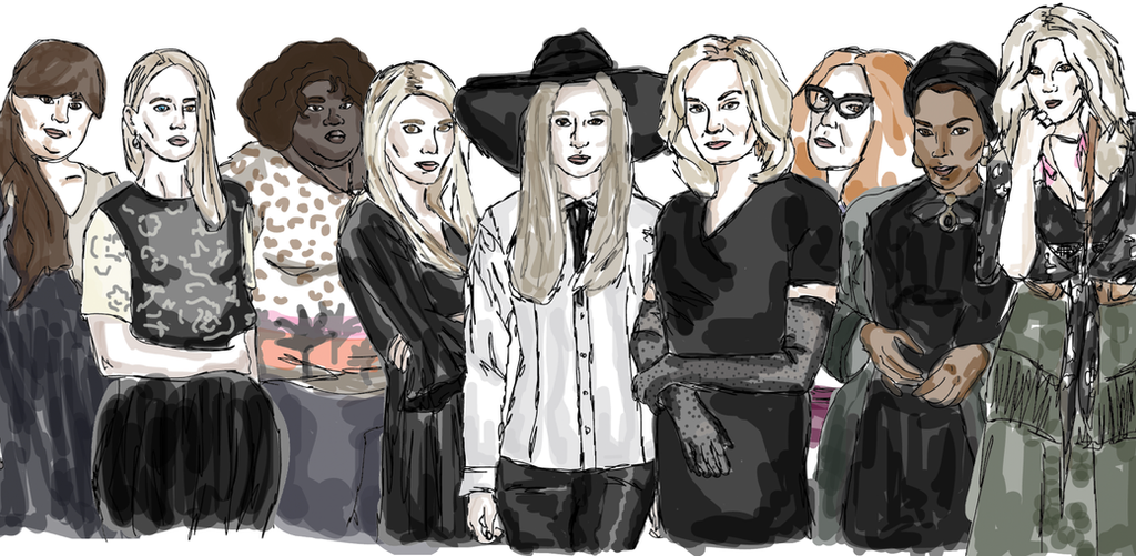 American Horror Story Coven by ChloEcREm on DeviantArt