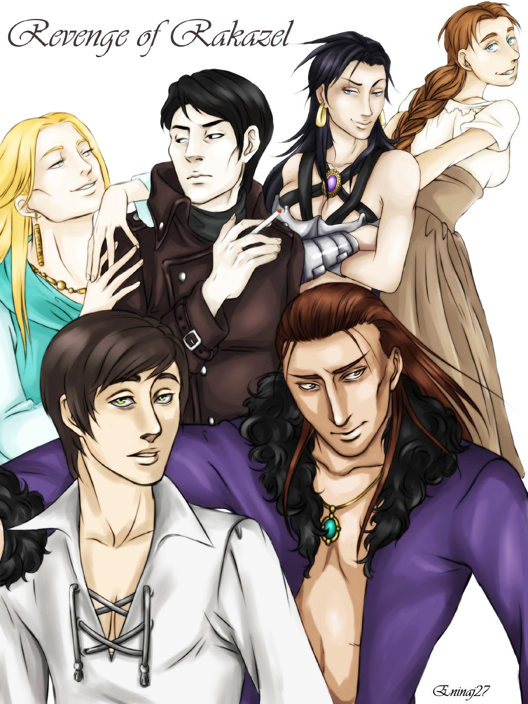 Revenge of Rakazel Crew by Eninaj27