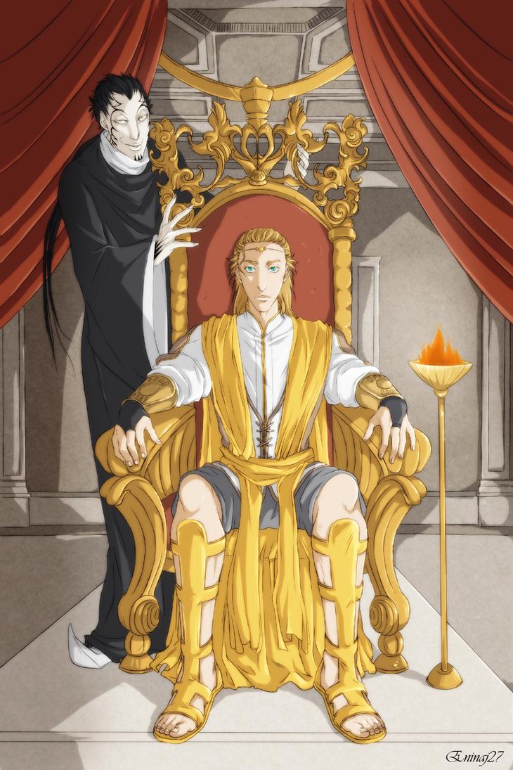 The throne by Eninaj27