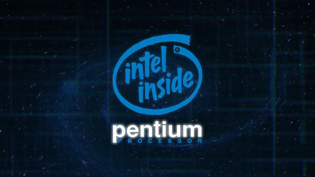 Intel Inside Pentium Processor Wallpaper By Themorc On