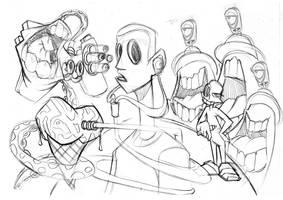 Dream Sketch by theICB