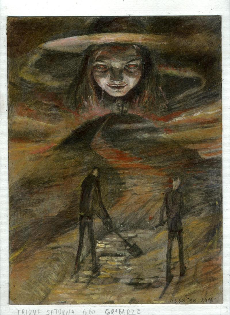 saturn rising by dariusz