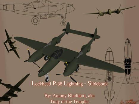 Lockheed P-38 Lightning - Slidebook (Cover)