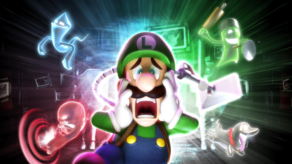 Luigis Mansion 2 Wallpaper By Casval Lem Daikun