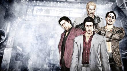 Yakuza Dead Souls Wallpaper 1 by Casval-Lem-Daikun