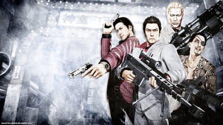 Yakuza Dead Souls Wallpaper 2 by Casval-Lem-Daikun