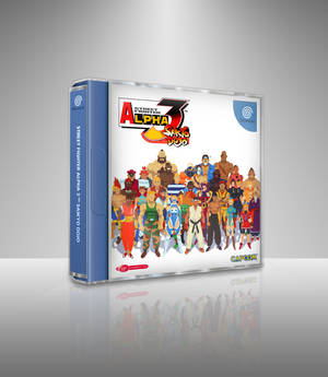 Street Fighter Alpha 3 Alternate Box Art V3