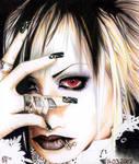 red eyed Riku by Mi-chi