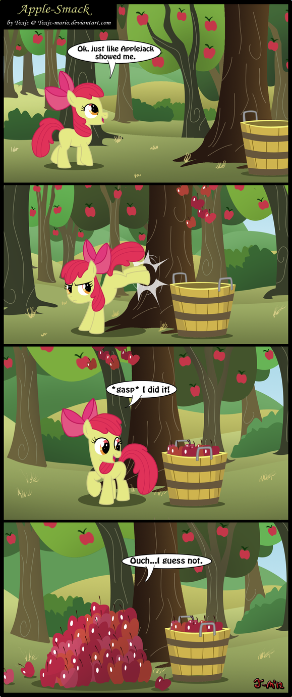 Apple-Smack by Toxic-Mario