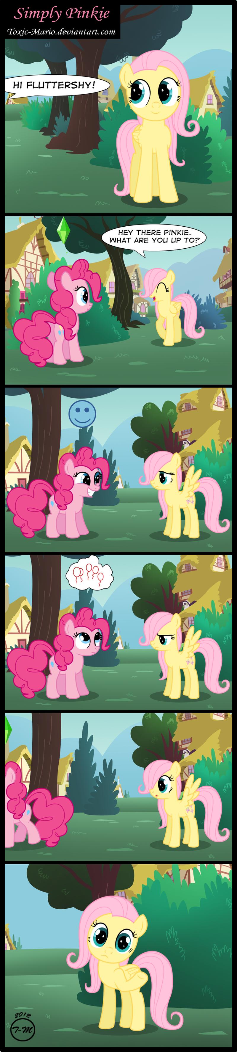 Simply Pinkie by Toxic-Mario