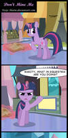 Dont Mine Me by Toxic-Mario