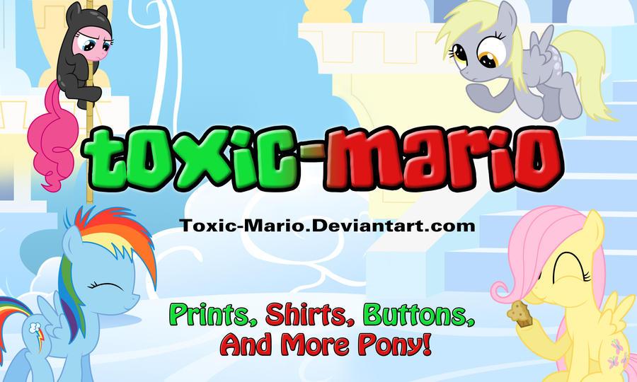 Toxic-Mario banner by Toxic-Mario