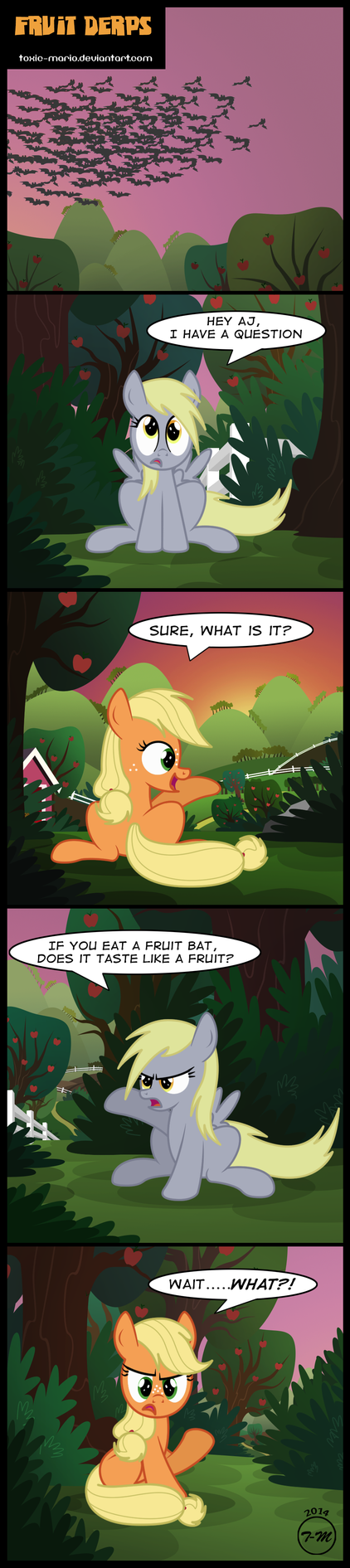 Fruit Derps by Toxic-Mario