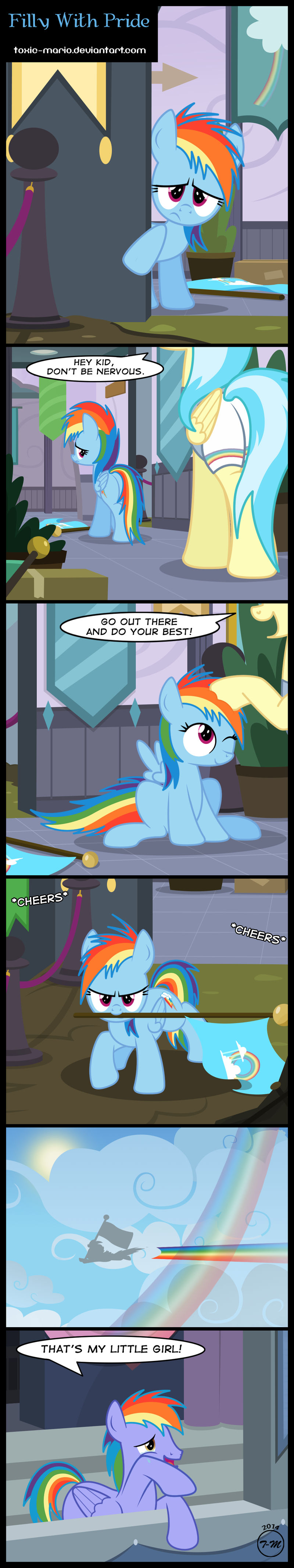 Filly With Pride