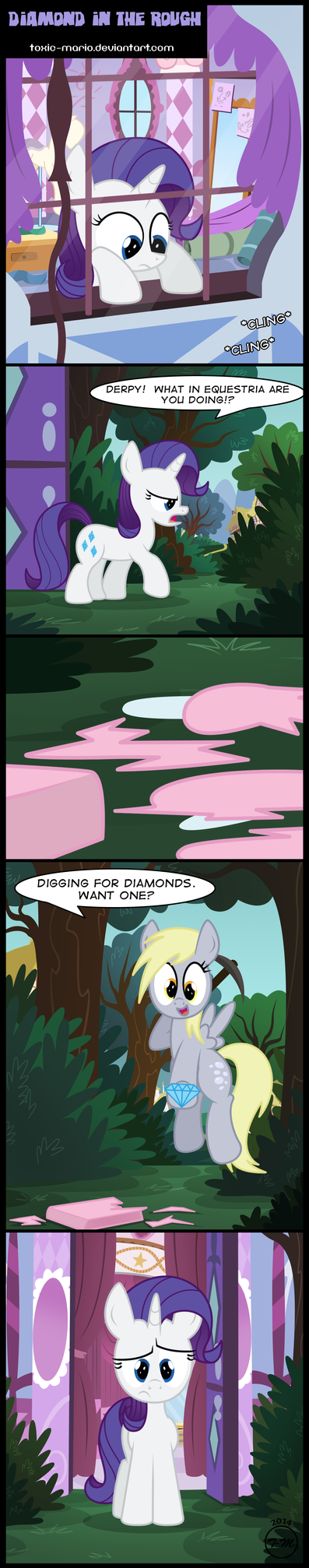 Diamond in the Rough by Toxic-Mario