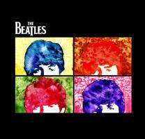 Beatles Pop Art by sqak