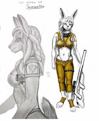 Samantha 2 first sketches by MadraSionnach
