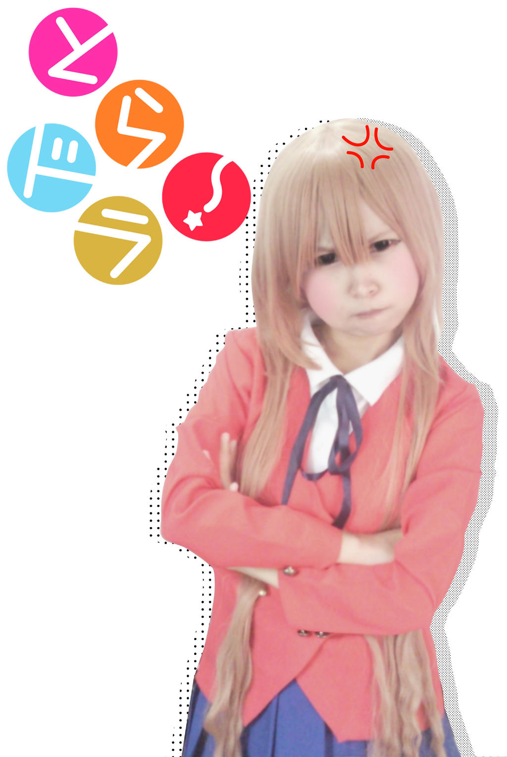 Taiga Aisaka (Toradora) cosplay by ohmygumiho on DeviantArt