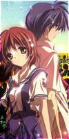Nagisa and Tomoya by Ranhg