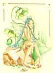 Ranuncula's fairy by sanguigna