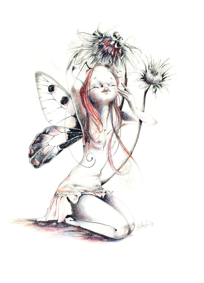 Lazy fairy by sanguigna