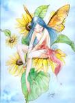 Sunflower's fairy