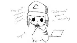 Pikachu, The REAL reason he steals Ash's Hat