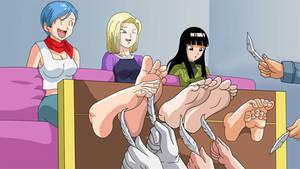Dragon Ball Super Tickling