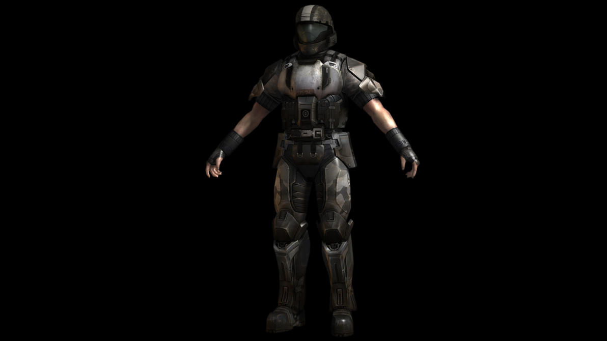 Sleeveless ODST by JefRchrds