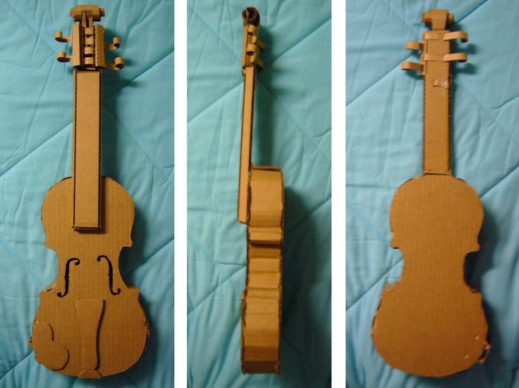 Как сделать гитару своими руками из картона пошаговое фото 94