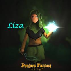 Liza from Penjara Fantasi