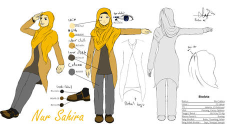 Nur Sahira (Modern Edition) Character Sheet