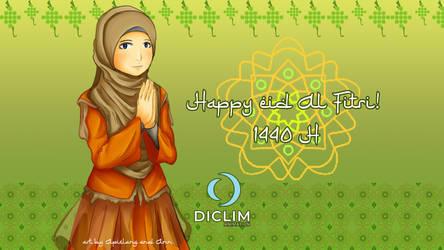 Happy Eid Al Fitr 1440 H