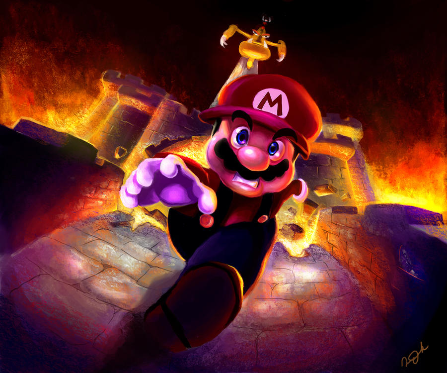 Fan Art - Super Mario RPG by ParkStudio