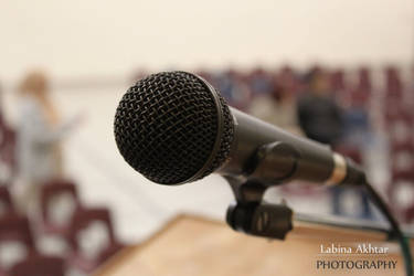 Microphone by LAStillLife