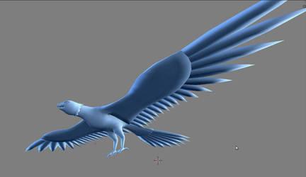 Fantasy Bird thing WIP