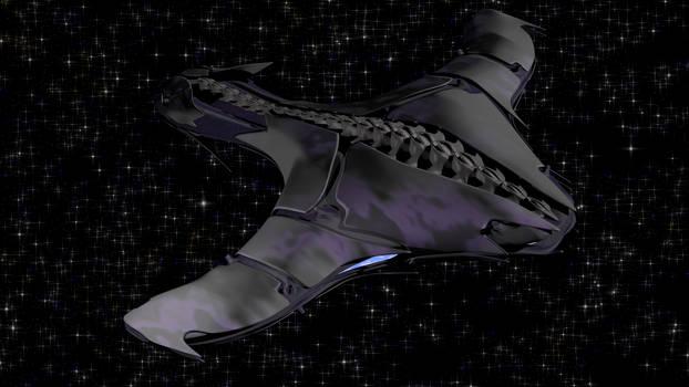 Biomechanoid ship