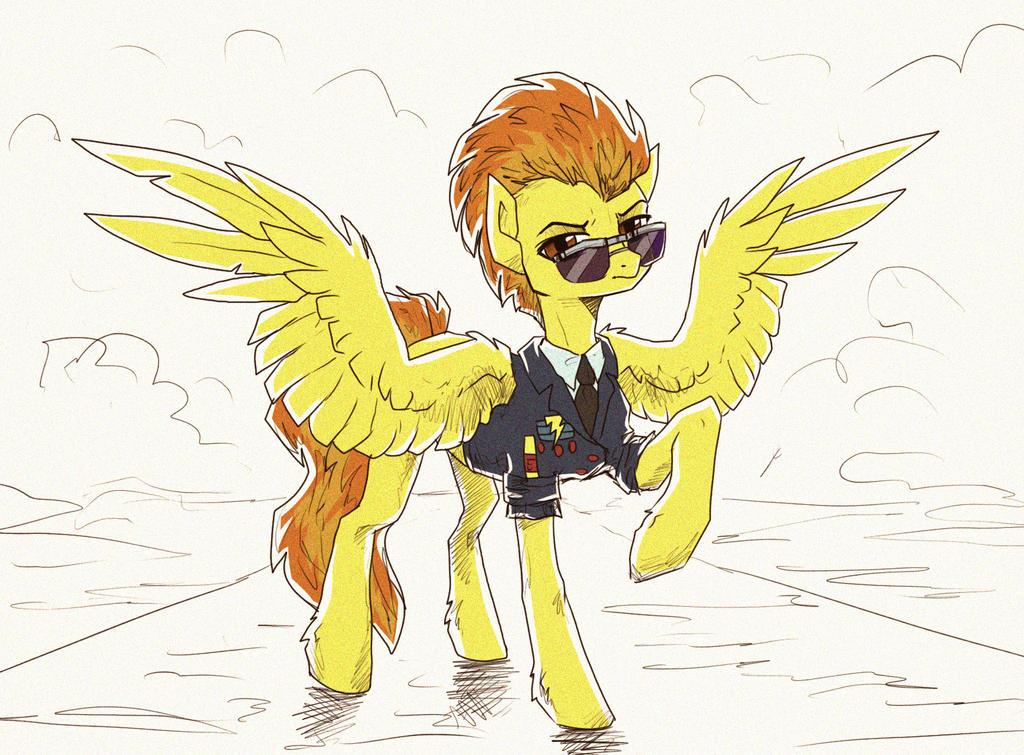Spitfire sketch