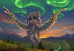 Commission:  Sweet Skies