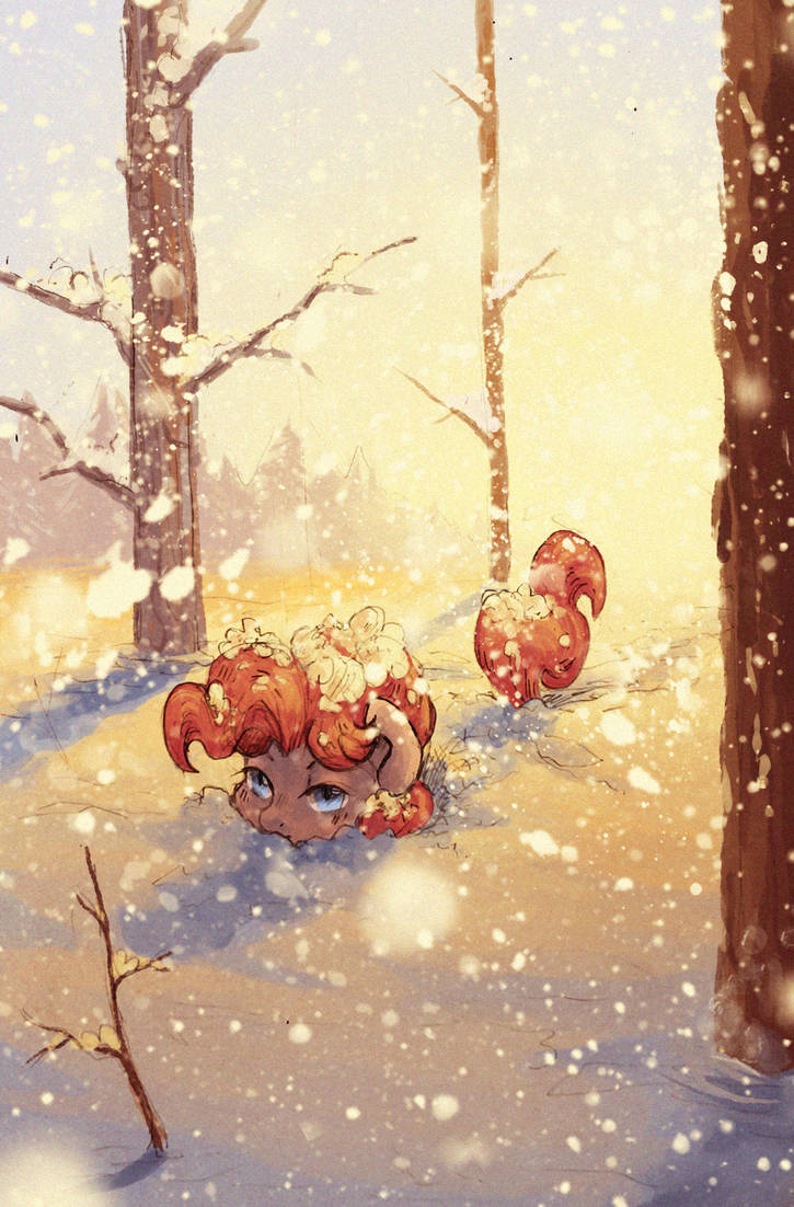 Snowy day by Koviry
