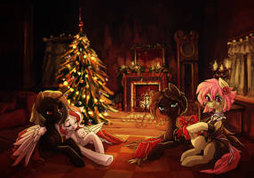 Christmas evening (comm) by Koviry