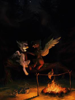 Campfire (ych)