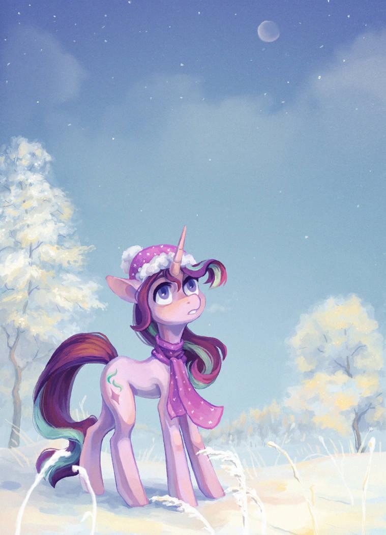 Winter Starlight (+speedpaint) by Koviry