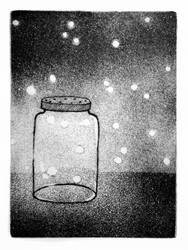 Catching Fireflies by brandimillerart