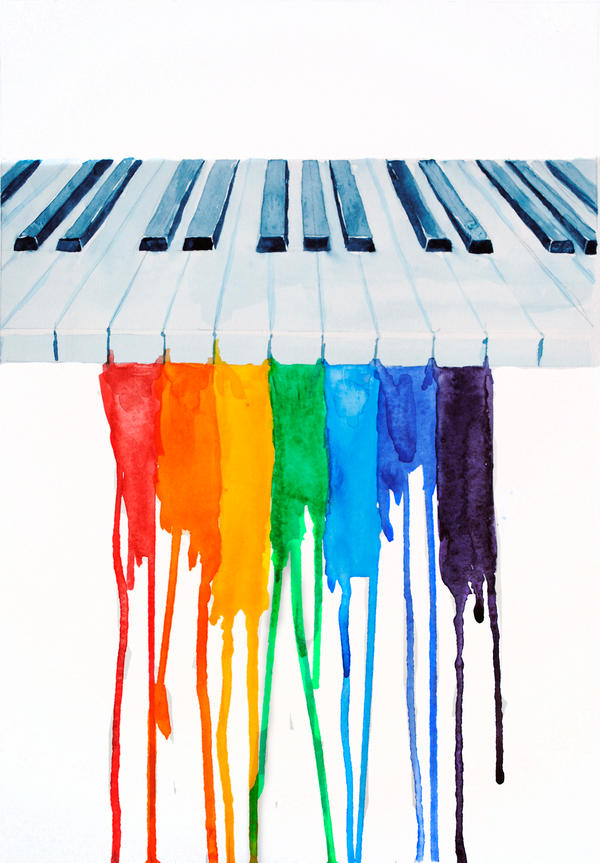 Colorful BPiano Wallpaper B Pictures To Pin On Pinterest
